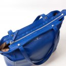 Minimal tote bag Jaxsen Blueberry zipper