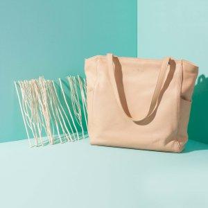 กระเป๋าหนัง JAXSEN เบจ advertising 01