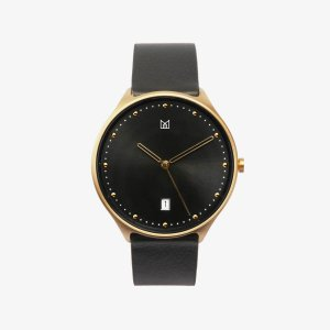 minimal watch neut gold-front