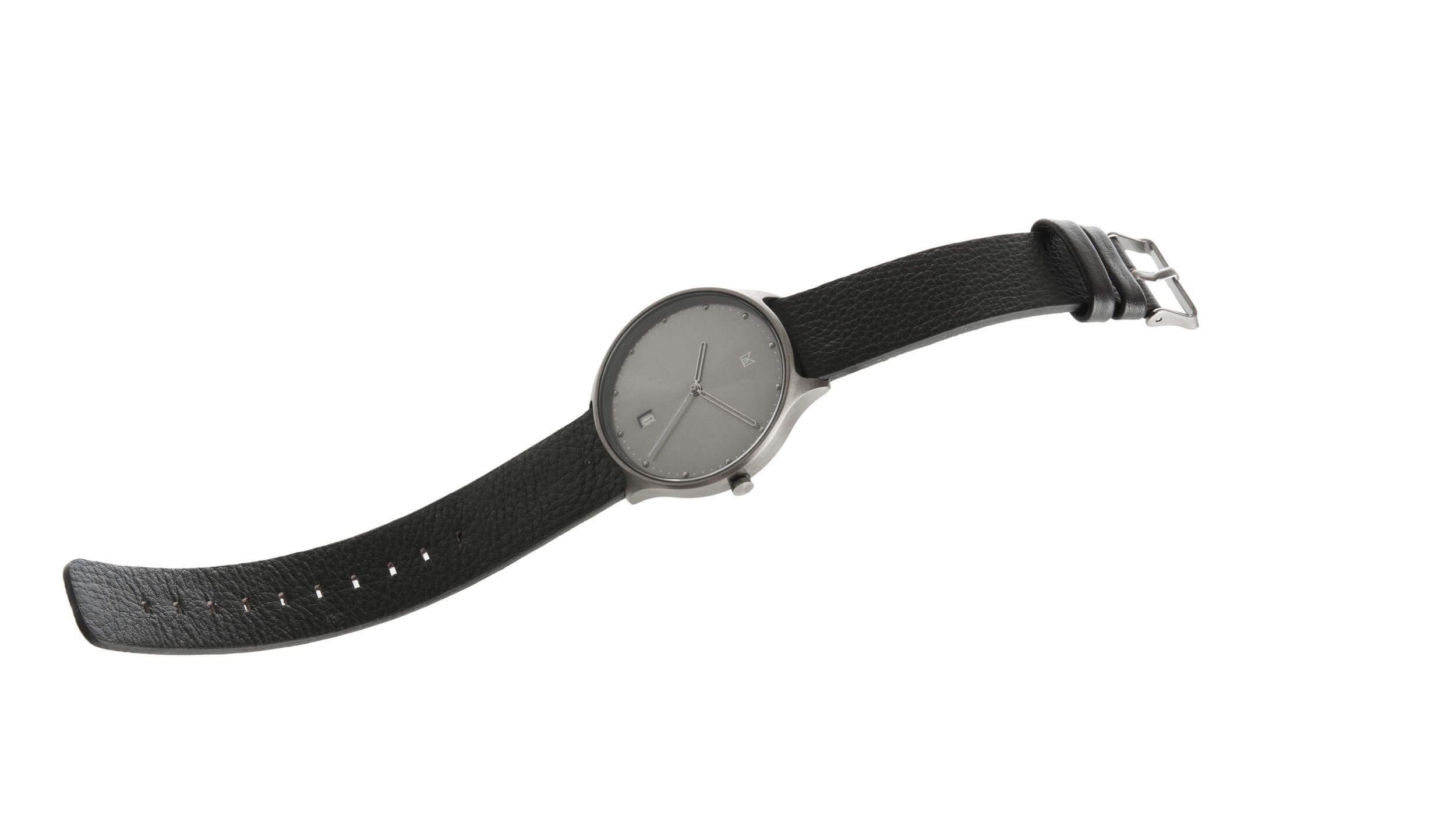 minimal watch neut - midnight black