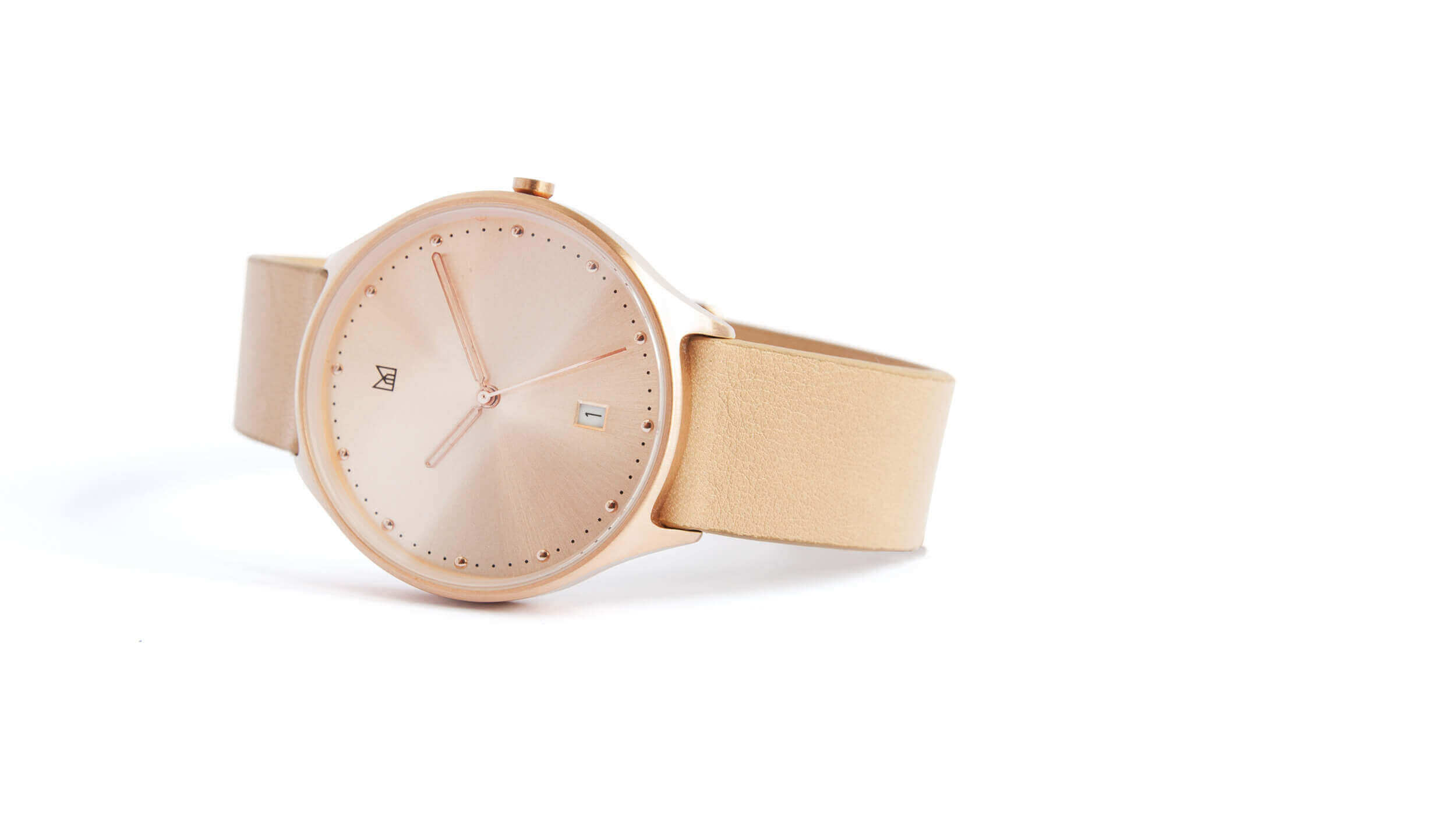 minimal watch neut - rose gold 2