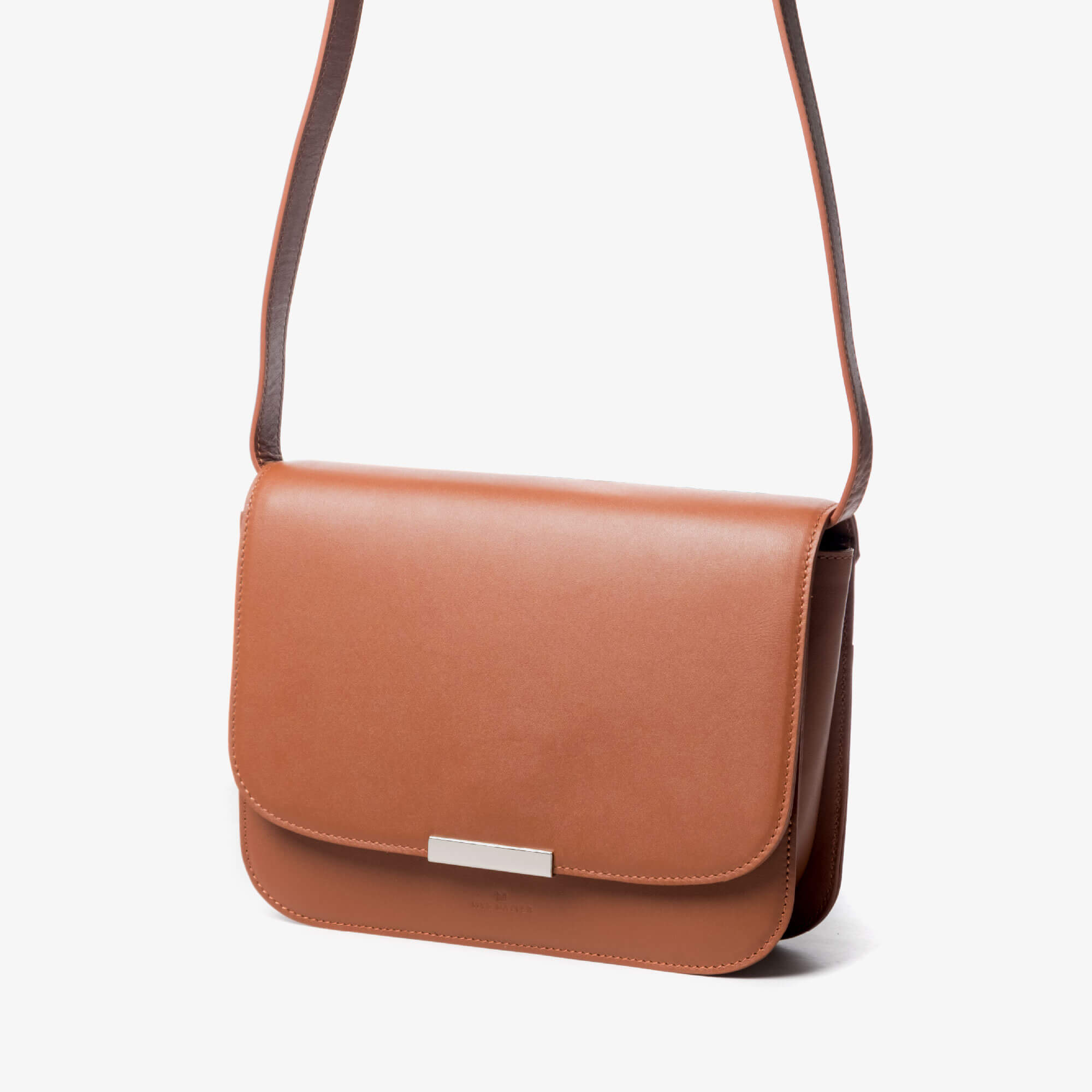 Minimal Crossbody Leather Bag Cinncamon Ally - WYE MATTER official ... 5fcf8298be58
