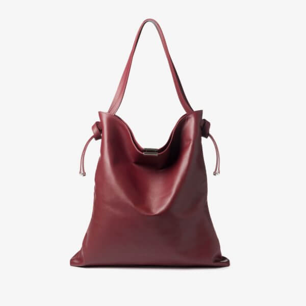 Ally – Tote bag – maroon-01